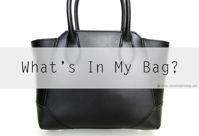 Take a look at What's Inside My Bag!