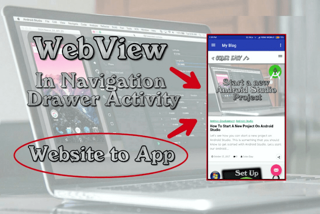Implement WebView To Navigation Drawer Activity