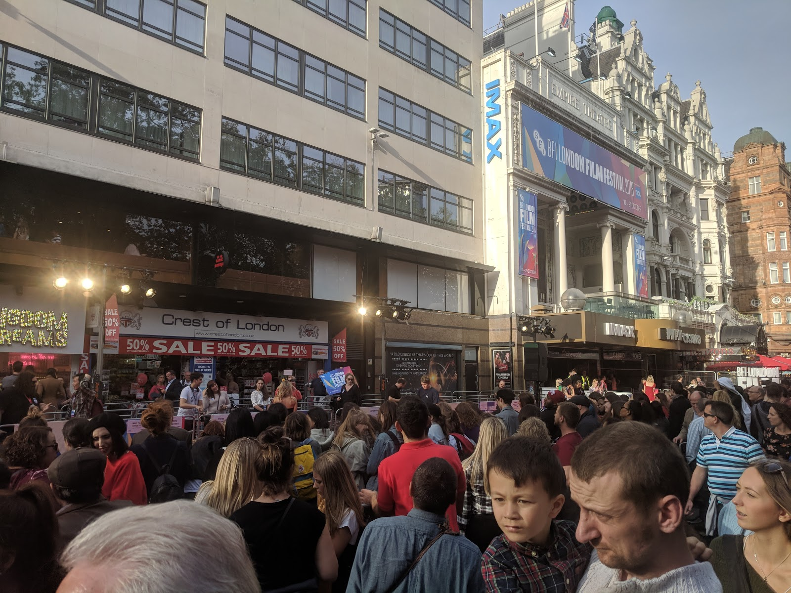 Dining with Kids in London   Bubba Gump Shrimp Leicester Square Review  - Leicester Square red carpet