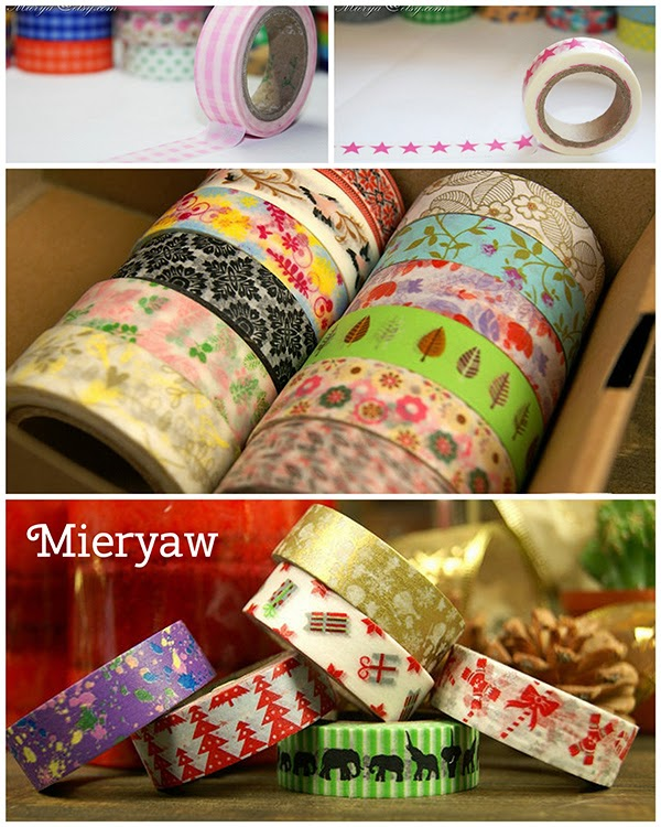 Mieryaw Washi Tape Store On Etsy - - Part of the big list of Washi Tape Stores On Etsy