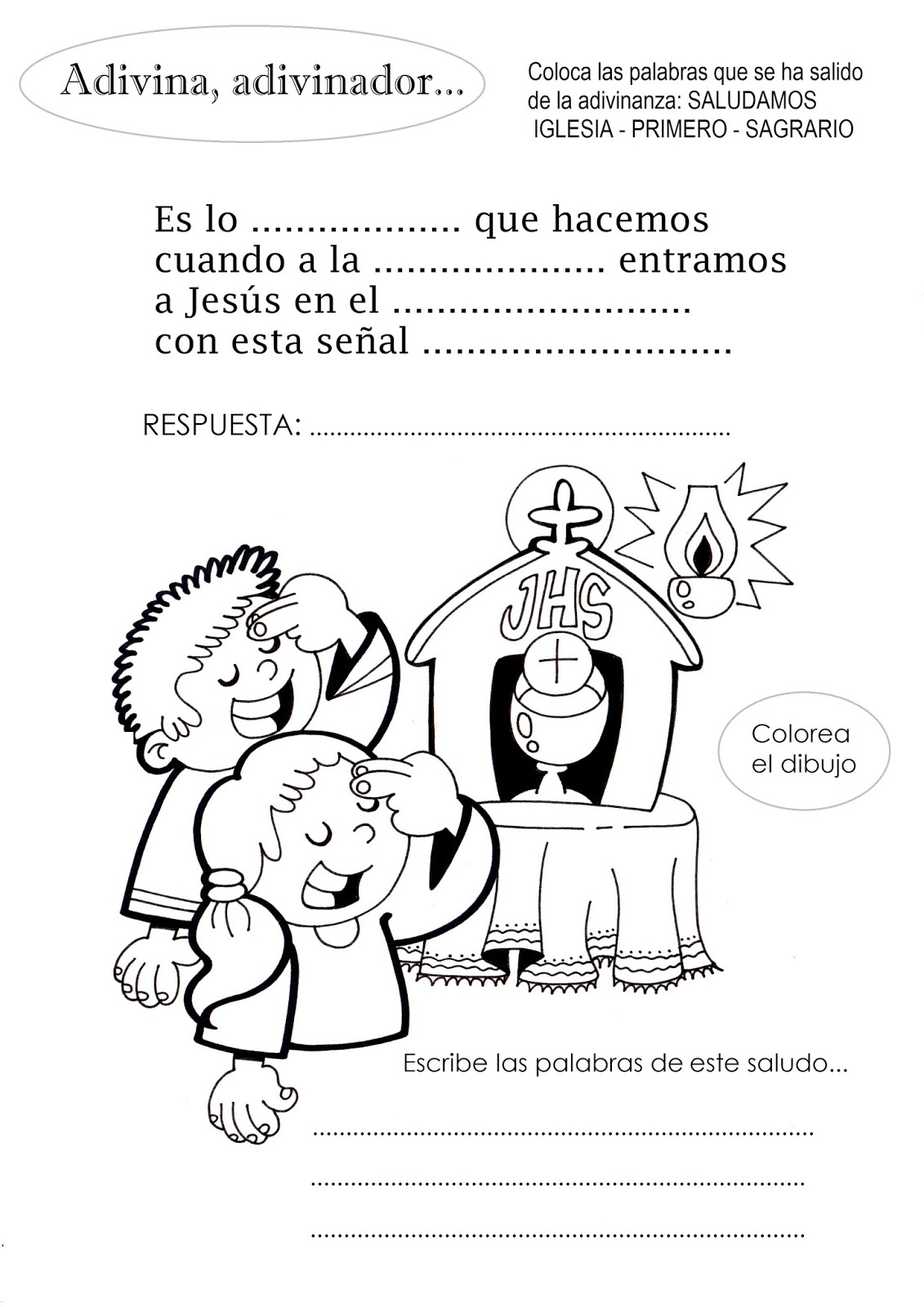 La Catequesis El Blog De Sandra Recursos Catequesis La