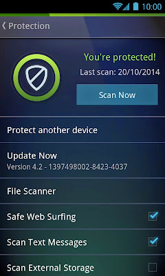AntiVirus PRO Android Security v4.3.1