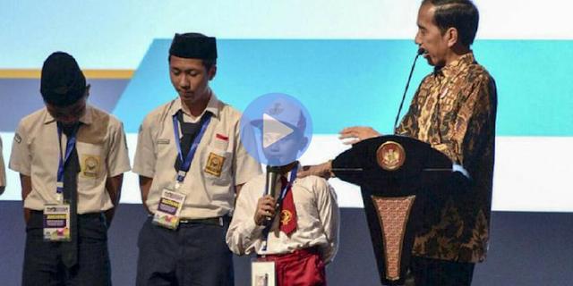 Ditanya Jokowi Nama-Nama Ikan, Jawaban Bocah SD ini Buat Semua Hadirin Heboh