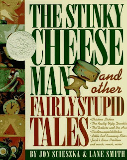 The Stinky Cheese Man and Other Fairly Stupid Tales  - 10 Books For Boys