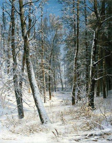 Стих зимний лес это сказочный сон