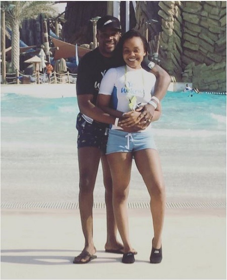 Awesome! Media Personality, Ebuka Obi-Uchendu & Wife Cynthia Share First After-wedding Photo