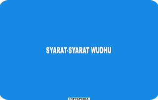 Syarat wudhu