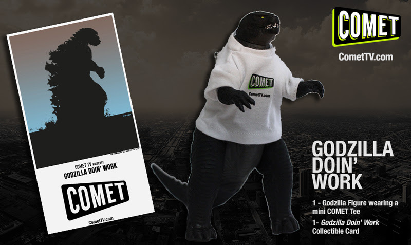 GIVEAWAY: Godzilla Doin' Work prize pack
