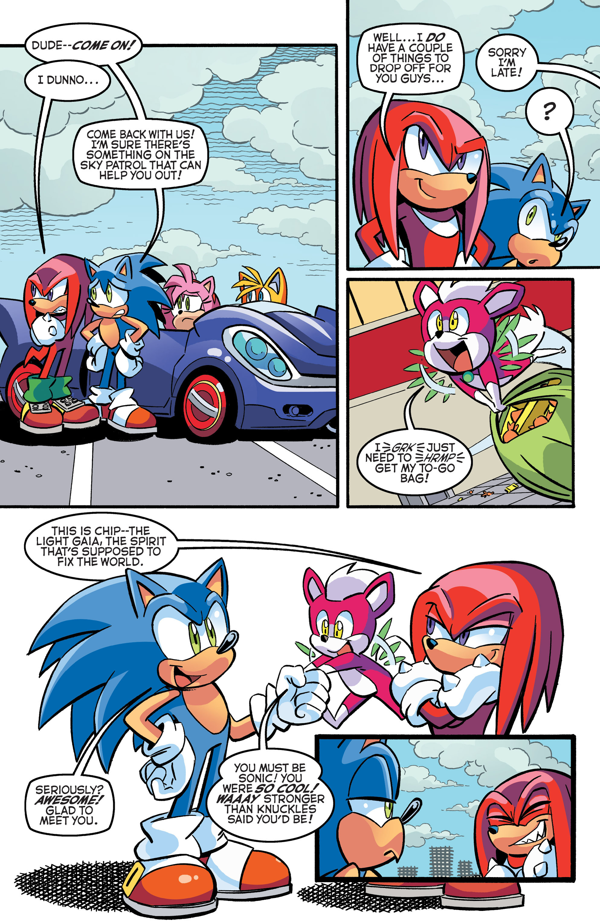 Read online Sonic The Hedgehog comic -  Issue #271 - 19