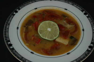 Thai Coconut Soup Take Out Fake Out Recipe made in the crockpot slow cooker