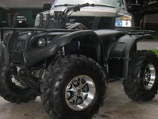 ATV with bedliner paint job