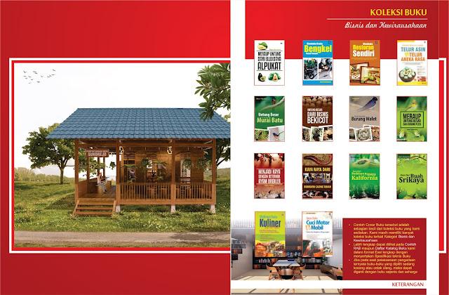 Buku Bisnis dan Kewirausahaan Untuk Perpustakaan Desa