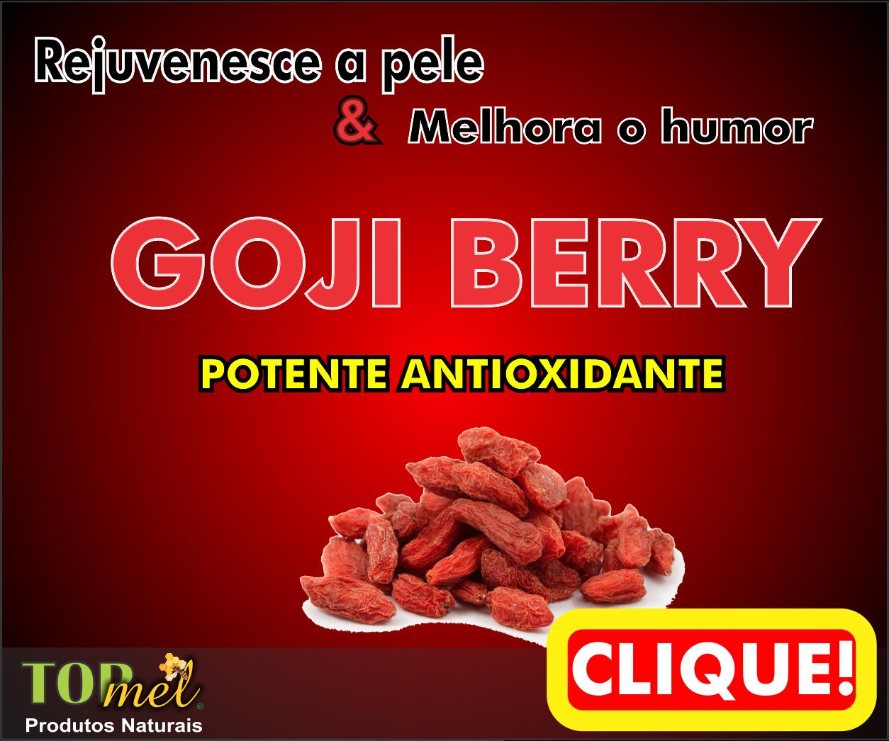 Goji Berry Potente Antioxidante