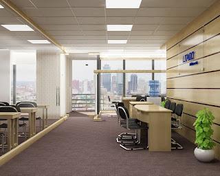 Thiết kế nội thất văn phòng chuyên nghiệp tạo nên sự tiện lợi trong công tác quản lý