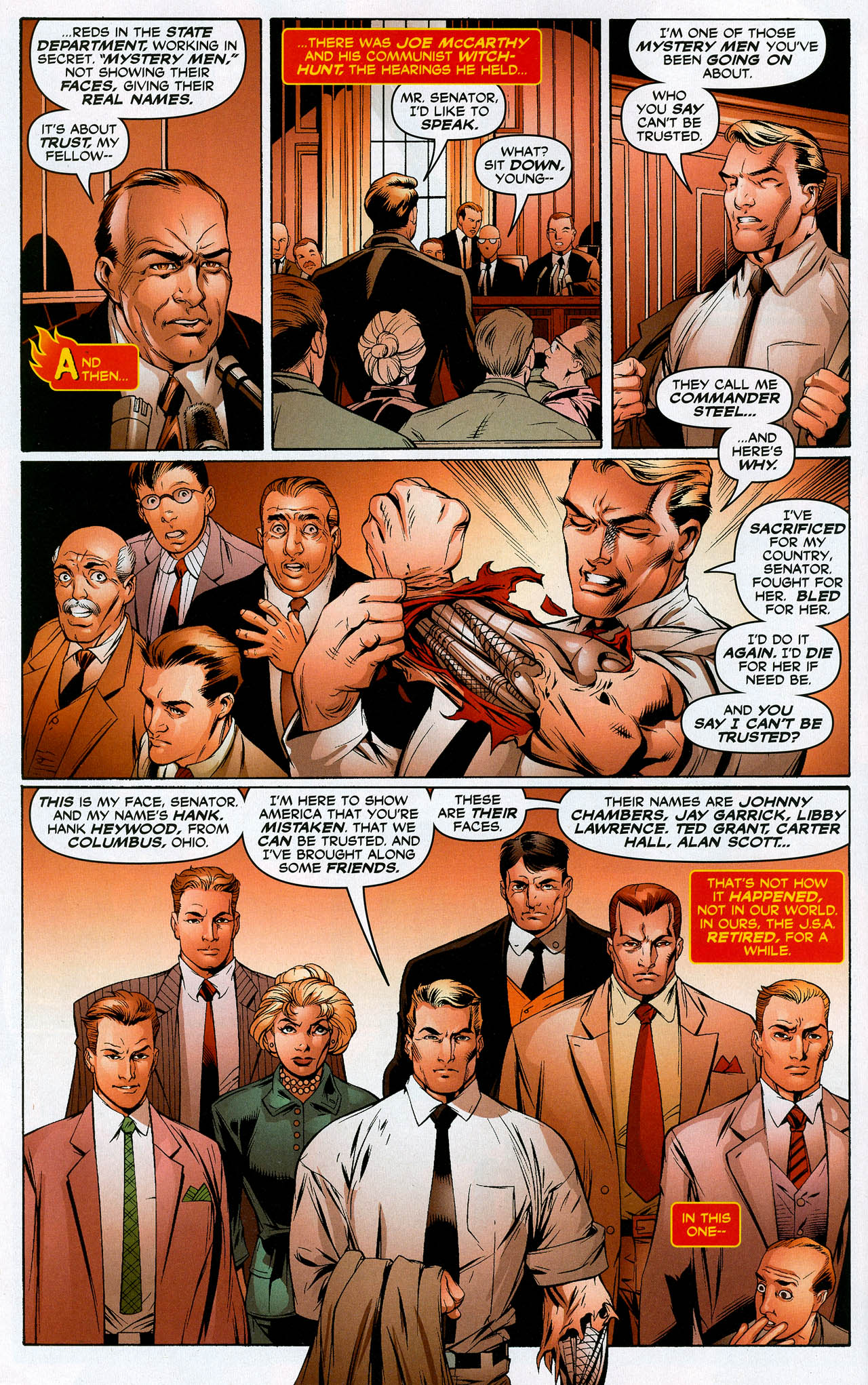 Read online Trinity (2008) comic -  Issue #20 - 8