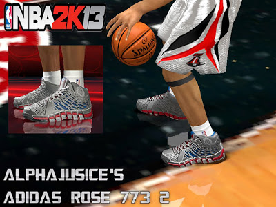 NBA 2K13 Adidas Rose 773 II Shoes Patch