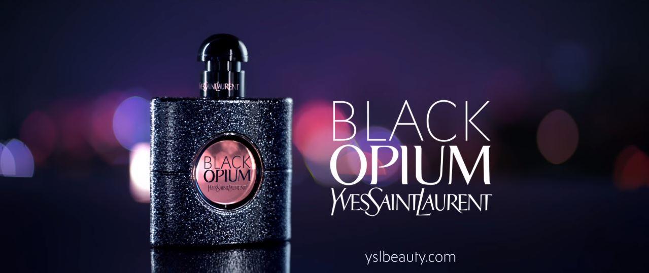 Canzone profumo Black Opium Yves Saint Laurent Pubblicità