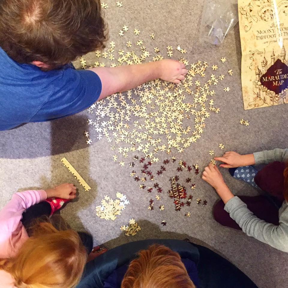 48 Hours in Harrogate with Kids | Harrogate Serviced Apartments Review - marauder's map puzzle