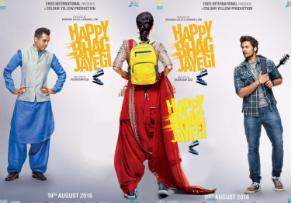 Happy Bhaag Jayegi (2016) Hindi Movie DVDScr 350MB
