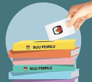 RUU PEMILU disahkan menjadi UU Nomor 7 Tahun 2017
