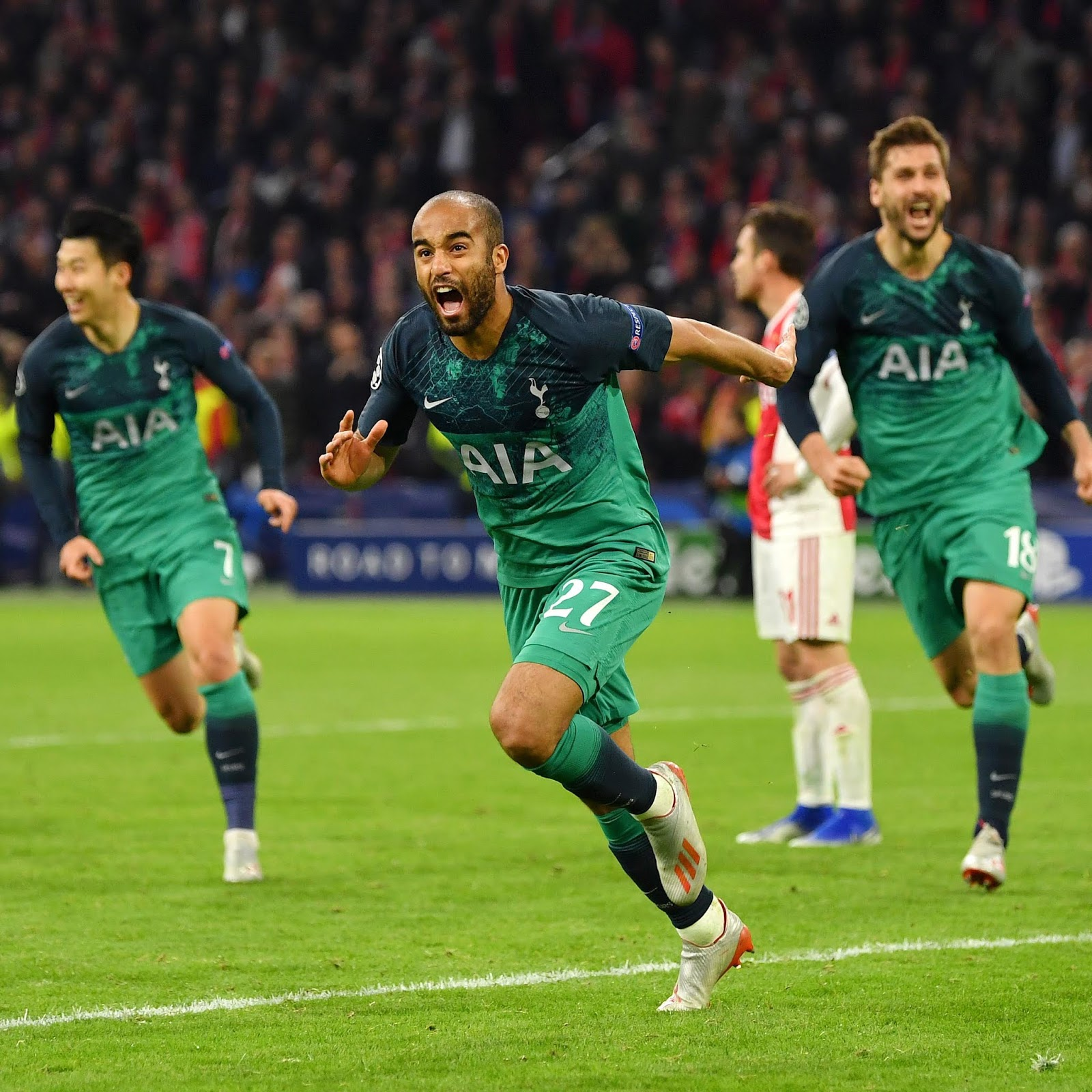 Lucas Moura Spurs Goals: Tottenham Hotspur Are Through To Their First Ever