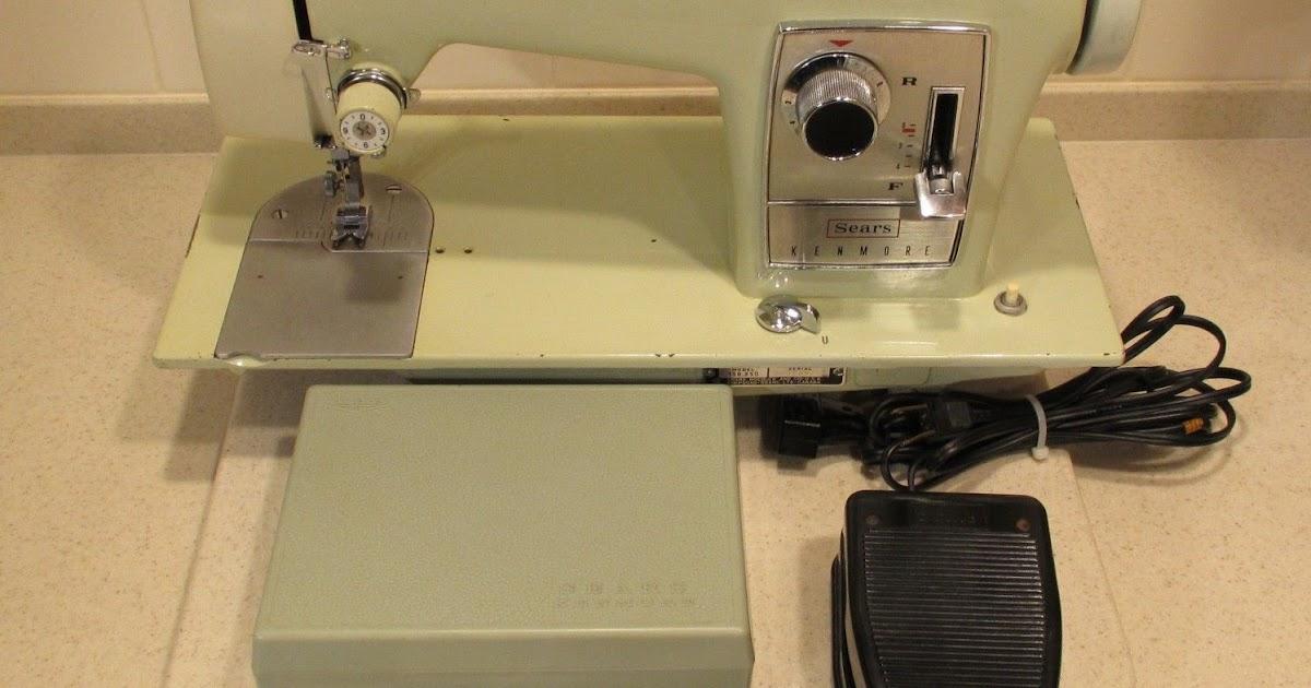 VINTAGE SEWING MACHINES SEARS KENMORE 4040 SEWING MACHINE Custom How To Thread A Sears Kenmore Sewing Machine Model 2142