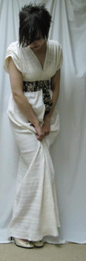 Patrón vestido griego 3 largos diferentes