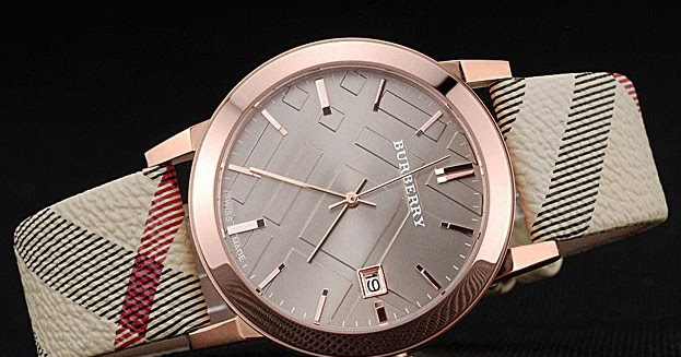 1ab631896f9 montre luxe collection  montre Burberry Classic Round 32MM Femme