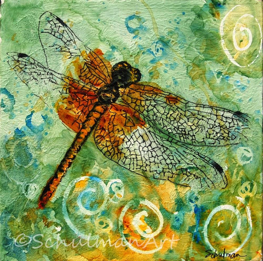 dragonfly art | collect your own: https://www.etsy.com/shop/SchulmanArts/search?search_query=dragonfly+art&order=date_desc&view_type=list&ref=shop_search