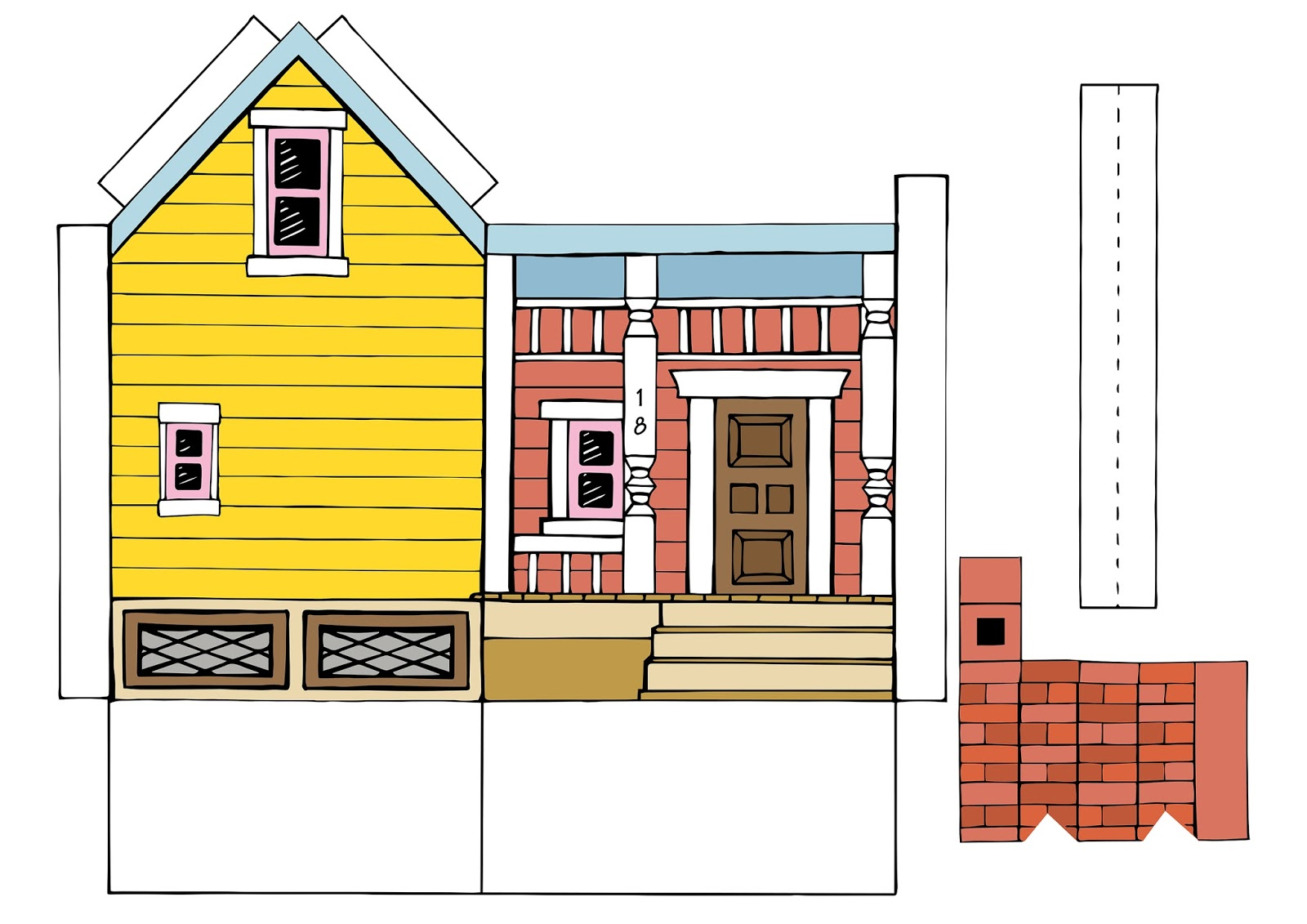 photograph about House From Up Printable named Peach Bum: UP Area Printable Template!