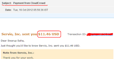 Cloudcrowd Payment Proof