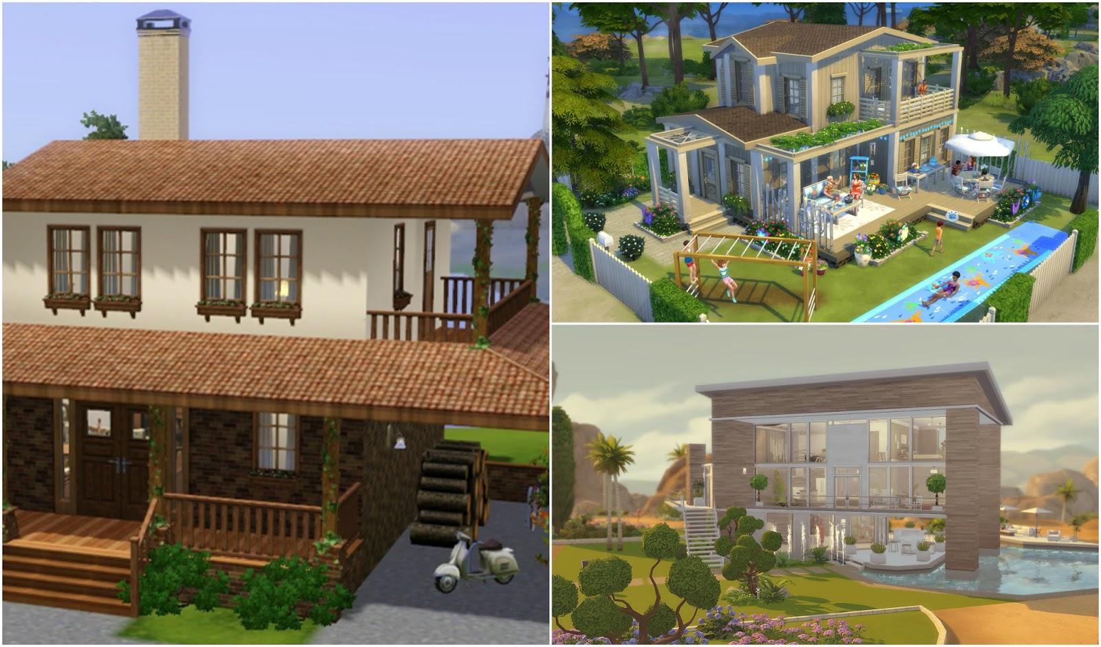 Criando casas lindas no the sims 4 filipa marques - Fotos de habitaciones bonitas ...