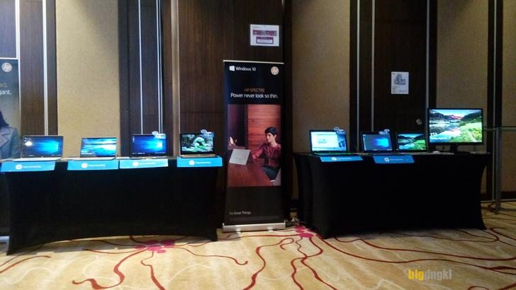 HP Spectre Melengkapi jajaran produk yang dipamerkan oleh HP Indonesia di Bandung