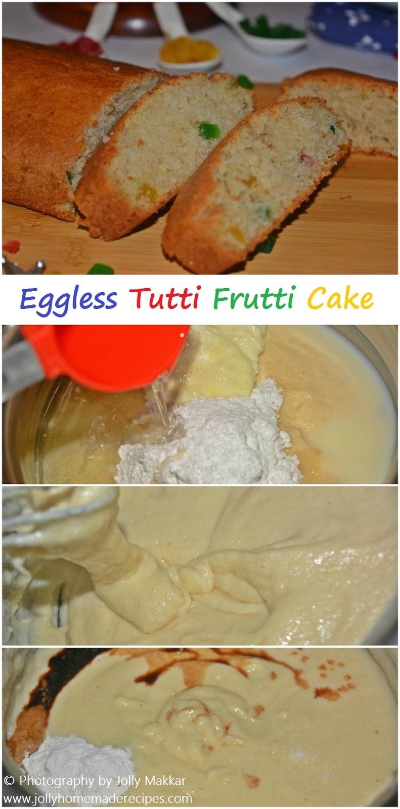 Eggless Fruit Cake Recipe By Tarla Dalal