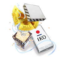 Kino dla mobilnych - bilety do kin Cinema City i Helios dla klientów PKO BP za aktywację aplikacji IKO