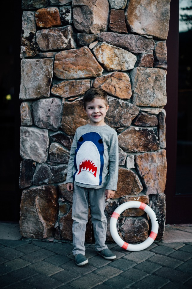 DIY Halloween Costume Ideas: Shark