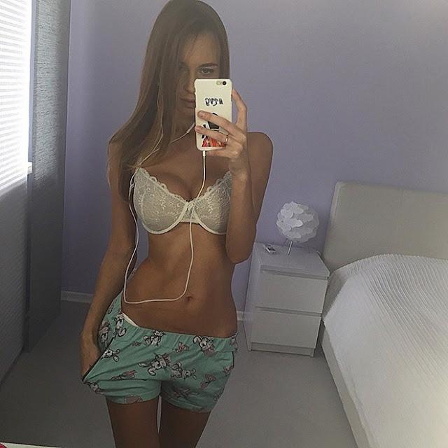 """""""Hot girls"""" Lily Ermak sexy look like Irina Shayk 8"""