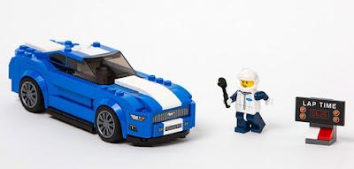 Στη φετινή Διεθνή Έκθεση Αυτοκινήτου Β. Αμερικής, η Ford μαζί με τη LEGO Speed Champions παρουσίασαν δύο ιστορικά μοντέλα Ford από τη νέα σειρά LEGO