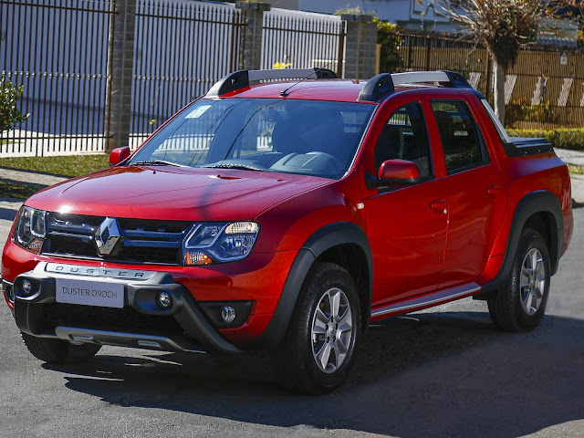 Renault Duster Oroch 2017 Automática