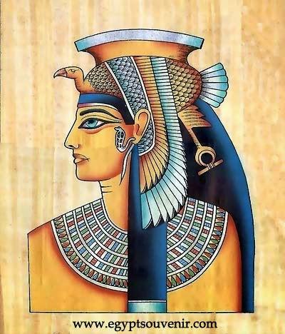 wajah asli cleopatra mesir