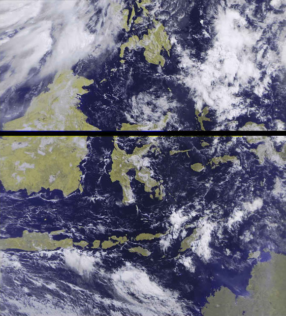Image from METEOR M2 Satellite