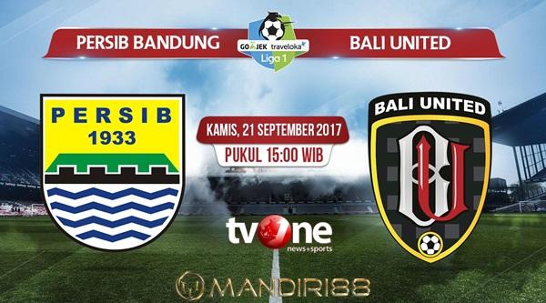 Persib Bandung berharap dapat meraih tiga poin di sangkar sendiri ketika menjamu Bali United Berita Terhangat Prediksi Bola : Persib Bandung Vs Bali United , Kamis 21 September 2017 Pukul 15.00 WIB @ TVONE