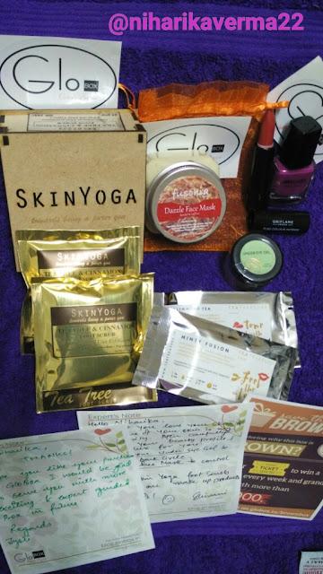 GloBOX Beauty Box Review 1