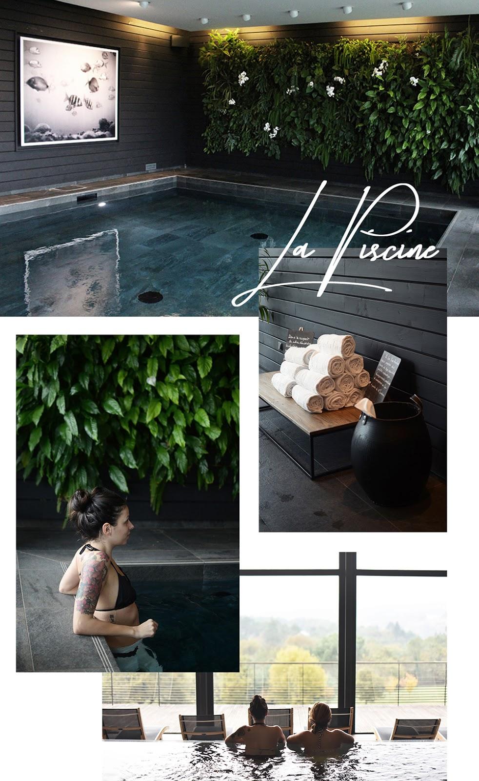 Eco-Hotel SPA Yves Rocher - Piscine
