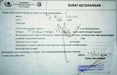 Surat Izin Tidak Masuk Sekolah Dalam Bahasa Inggris Beserta Artinya