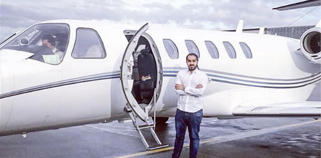 Programador ostenta mega fortuna no Instagram.