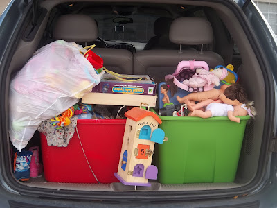 getting rid of toy clutter