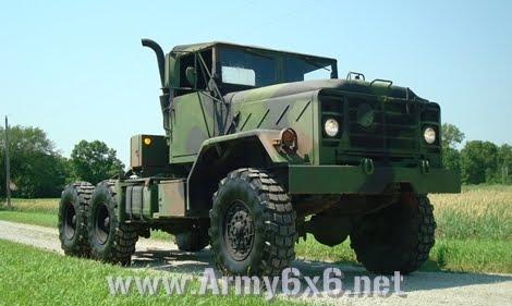 Army 6x6 Truck Sales