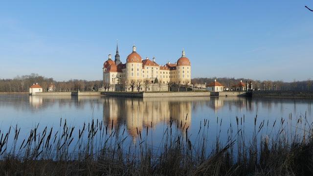 Schloss Moritzburg nahe Dresden, Sachsen