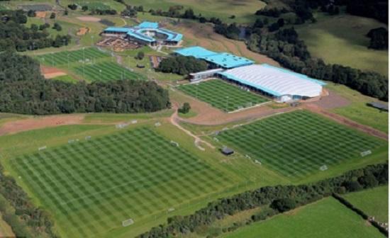 Trung tâm tập luyện quốc gia của FA, nơi các HLV làm việc chung trước mỗi trận tuyển quốc gia.